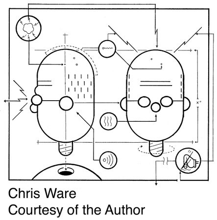 Photo of Chris Ware