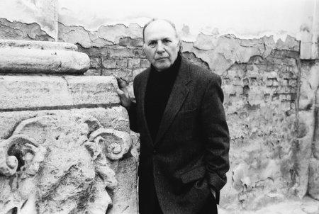Photo of Imre Kertesz