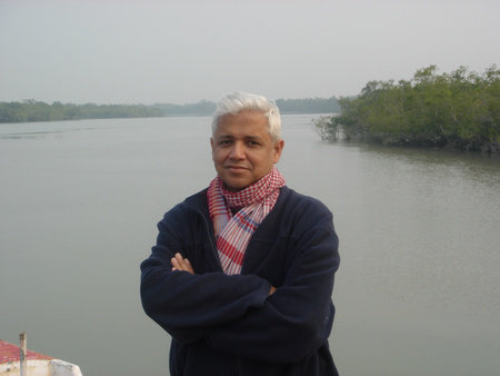 Photo of Amitav Ghosh