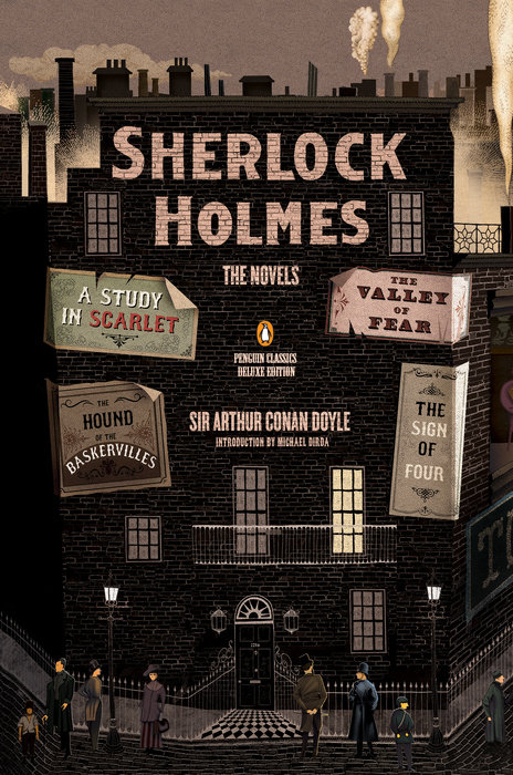 Sherlock Holmes: The Novels book cover