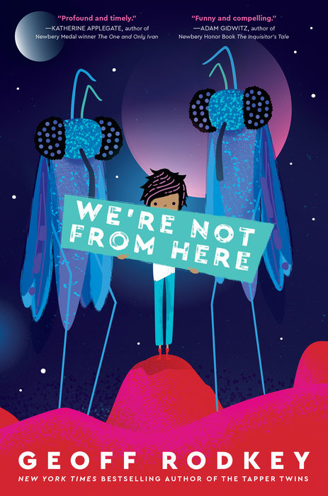 We're Not From Here - Cover Image