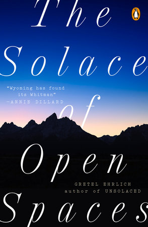 The cover of the book The Solace of Open Spaces