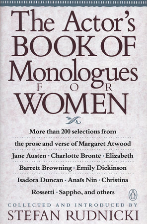 The Actor's Book of Monologues for Women by Various