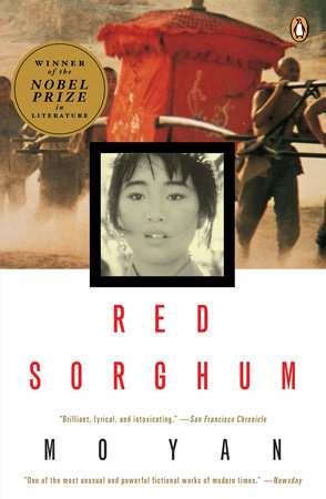 The cover of the book Red Sorghum