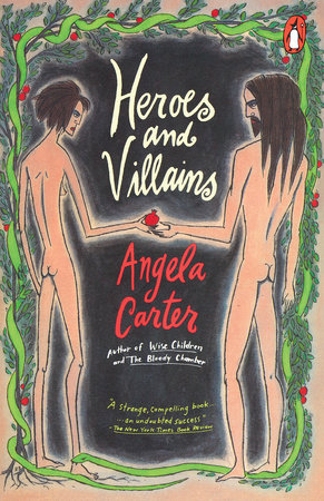 The cover of the book Heroes and Villains