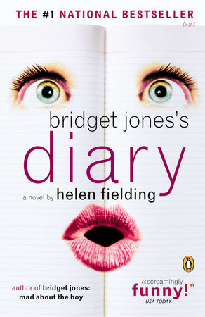 The cover of the book Bridget Jones's Diary