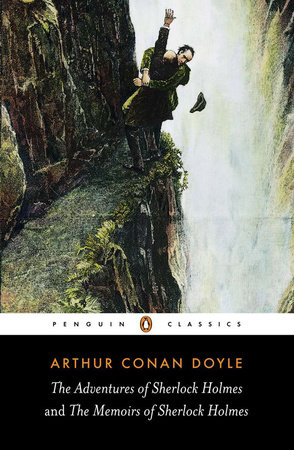 The cover of the book The Adventures and Memoirs of Sherlock Holmes