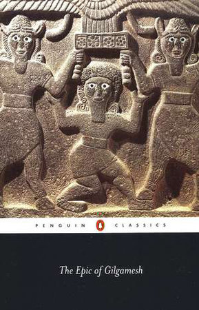 The Epic of Gilgamesh Book Cover Picture