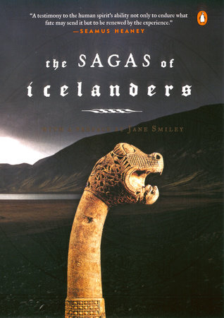 The cover of the book The Sagas of Icelanders