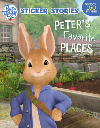 Peter's Favorite Places (Sticker Stories) by Warne