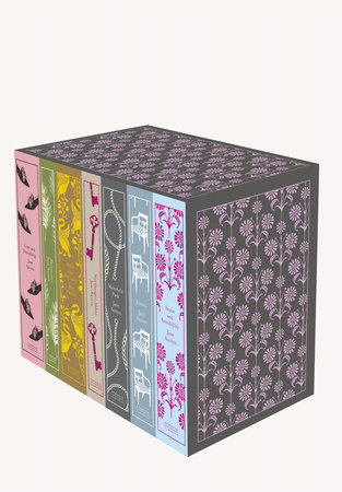 The cover of the book Jane Austen: The Complete Works 7-Book Boxed Set
