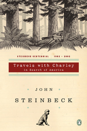 The cover of the book Travels with Charley