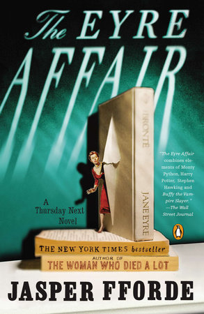 The cover of the book The Eyre Affair