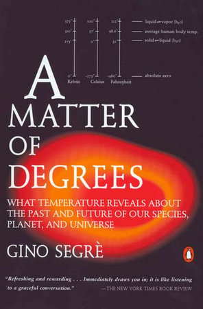 A Matter of Degrees by Gino Segre