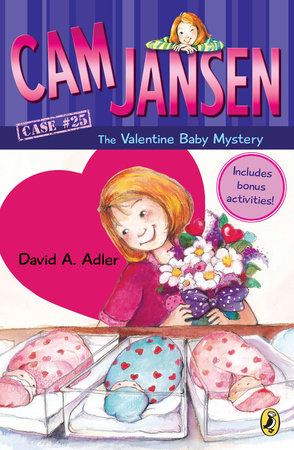 Cam Jansen: Cam Jansen and the Valentine Baby Mystery #25 by David A. Adler