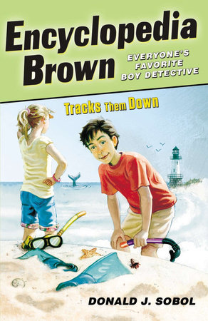 Encyclopedia Brown Tracks Them Down by Donald J. Sobol