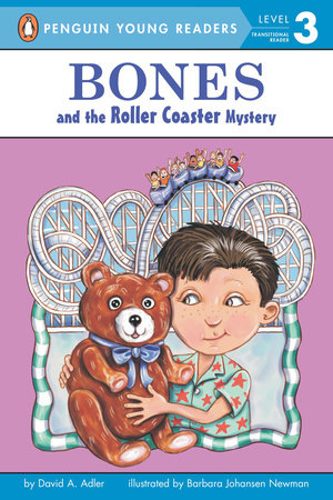 Bones and the Roller Coaster Mystery #7 by David A. Adler