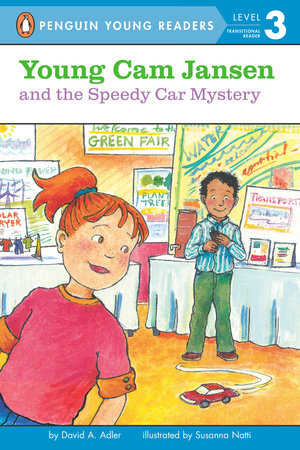 Young Cam Jansen and the Speedy Car Mystery by David A. Adler