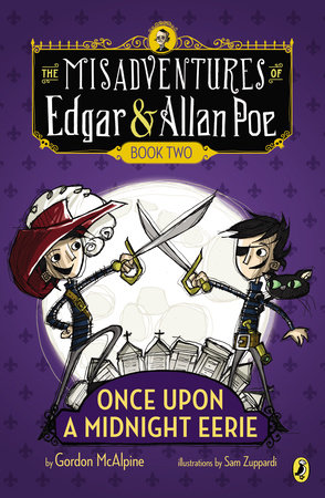 Image result for MISADVENTURES OF EDGAR ALLAN POE