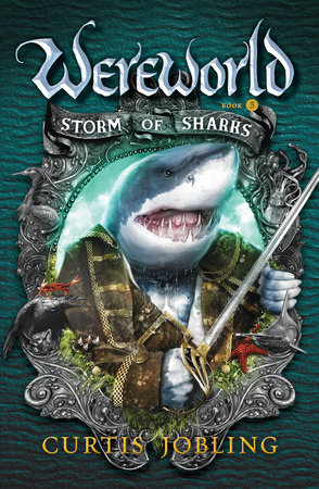 Storm of Sharks by Curtis Jobling
