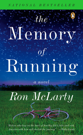 The cover of the book The Memory of Running