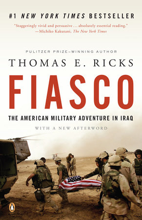 The cover of the book Fiasco