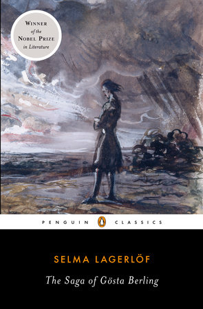 The cover of the book The Saga of Gosta Berling