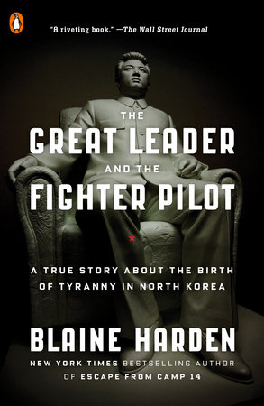 The cover of the book The Great Leader and the Fighter Pilot