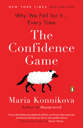 The cover of the book The Confidence Game
