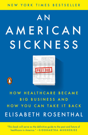 The cover of the book An American Sickness