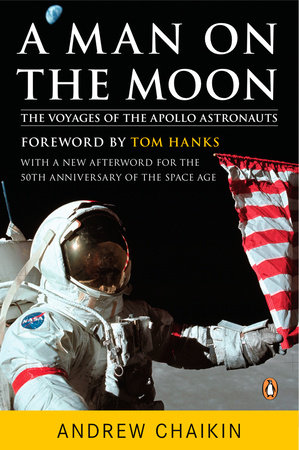The cover of the book A Man on the Moon