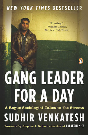 Gang Leader for a Day Book Cover Picture