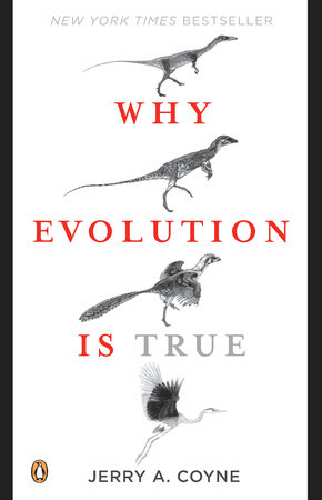 The cover of the book Why Evolution Is True