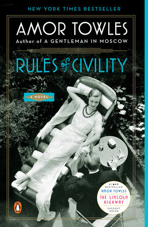 The cover of the book Rules of Civility