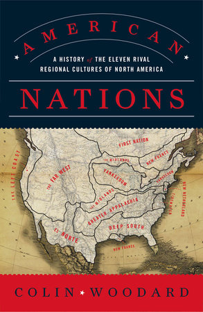 The cover of the book American Nations