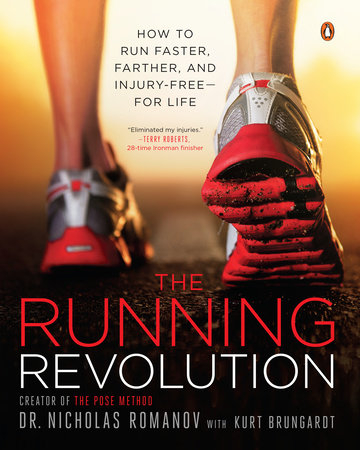 The cover of the book The Running Revolution