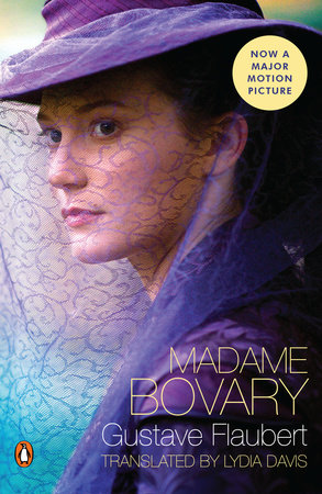The cover of the book Madame Bovary