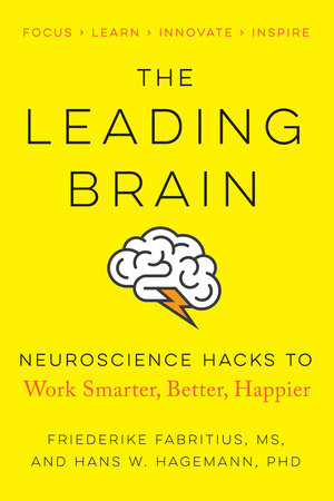 The cover of the book The Leading Brain