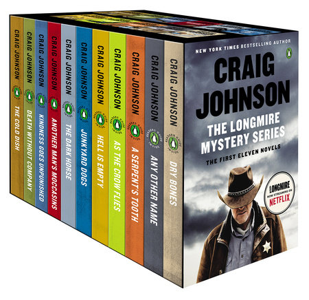 The Longmire Mystery Series Boxed Set Volumes 1-11 by Craig Johnson