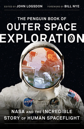 The cover of the book The Penguin Book of Outer Space Exploration