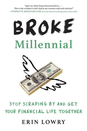 The cover of the book Broke Millennial