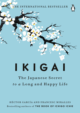 The cover of the book Ikigai