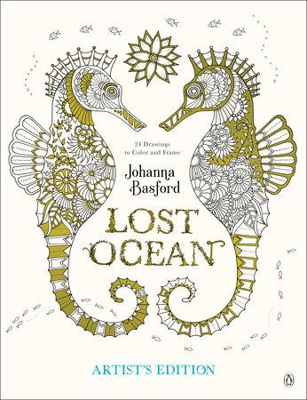 Lost Ocean Artist's Edition by Johanna Basford