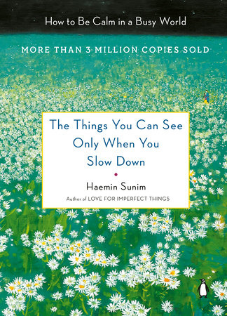 The cover of the book The Things You Can See Only When You Slow Down