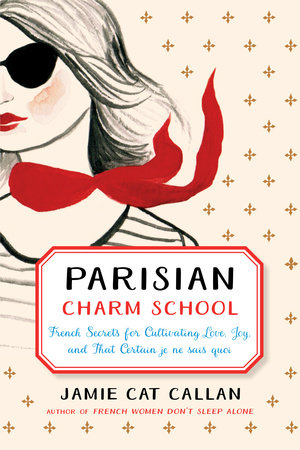 The cover of the book Parisian Charm School