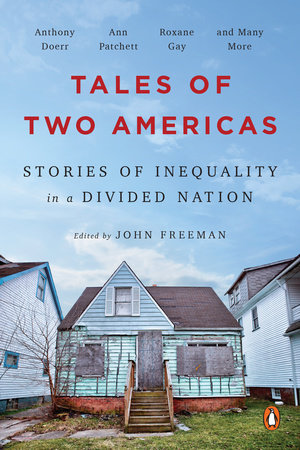 The cover of the book Tales of Two Americas