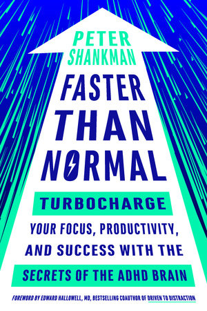 The cover of the book Faster Than Normal