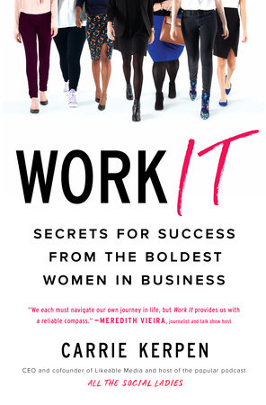 The cover of the book Work It
