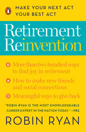 The cover of the book Retirement Reinvention