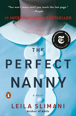 The cover of the book The Perfect Nanny